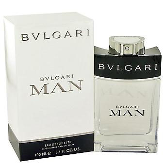 Bvlgari man eau de toilette spray by bvlgari 481217 100 ml