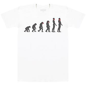 تطور اللحية - Mens تي شيرت