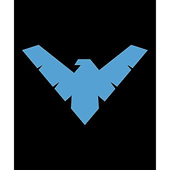 Nightwing symbol Queen teppe