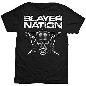 Slayer Nation Reign in Blood Show No Mercy Rock camiseta oficial