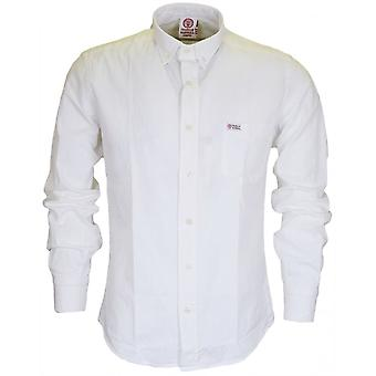 Manches longues Franklin & Martins Ca303 Marshall chemise blanche