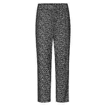 Rösch 1204630-16077 Femei's Curbă Negru Dots Loungewear Pant