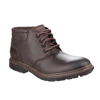 Rockport Mens Urban Retreat Lace Up Leather Desert Chukka Boot