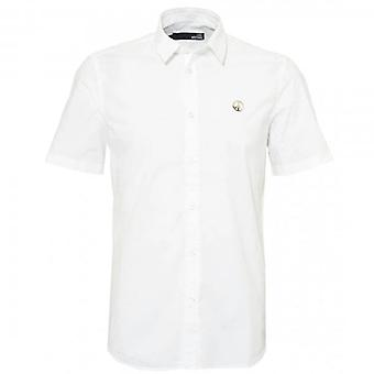 Love Moschino Short Sleeve White Shirt MC75585S3253