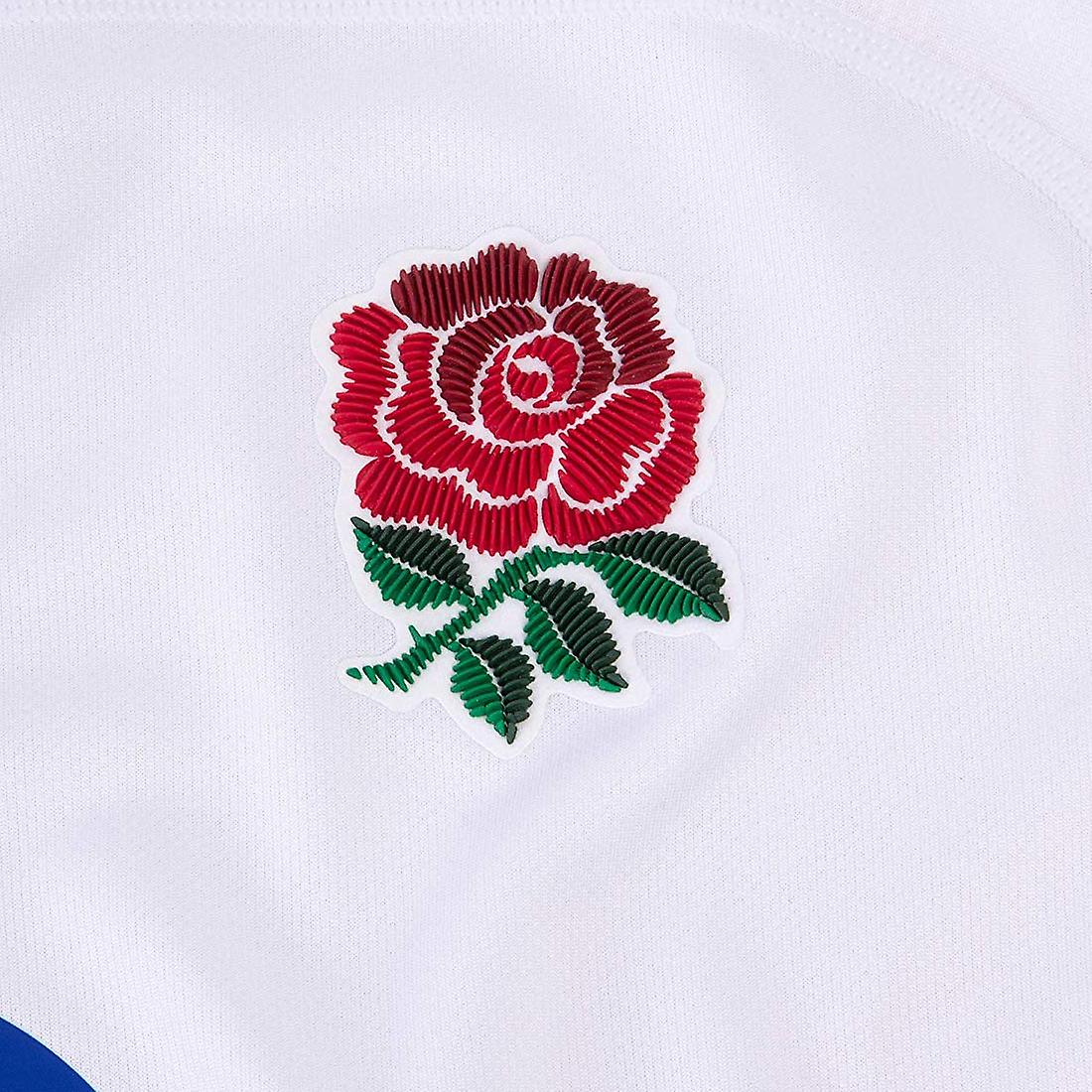 Canterbury England 2019/20 Mens Vapodri Home Pro Jersey Shirt Tee White/Red