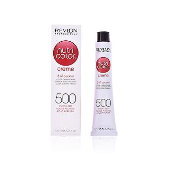 Revlon Professional Nutri Kolor Creme 3 w 1 Koktajl Kolor włosów, Care Shine 100ml Purple Red #500