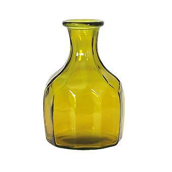 Light & Living Vase 18x30cm Trenago Glass Ocher