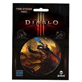Diablo III Monk Class Sticker