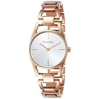 Calvin Klein ladies Quartz analogue watch with stainless steel band K7L23646