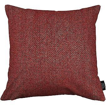 Mcalister textiles herringbone red cushion