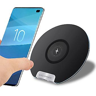 Jetjoy Qi Universal Wireless Charger 5V - 2.1A Wireless Charging Pad Black