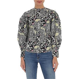 Isabel Marant ÉToile Ht169220p076ebkbe Women's Multicolor Cotton Blouse