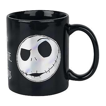 Nightmare Before Christmas, mug-Jack Skellington
