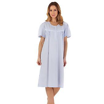 Slenderella ND55221 Kvinnor's Randig nightdress