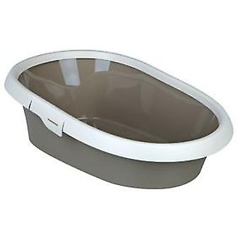 Trixie Paulo Hygienic Tray-Cream Taupe (Cats , Grooming & Wellbeing , Litter Trays)