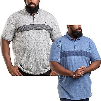 Duke D555 Mens Hunter King Size Big Tall Short Sleeve Collared Polo Shirt Top