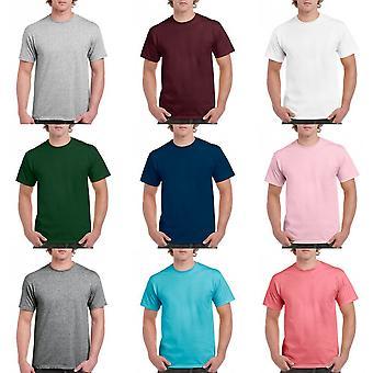 Gildan Mens Hammer zwaargewicht T-Shirt