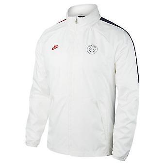 2019-2020 PSG Nike Allweather Fan Jacket (White)