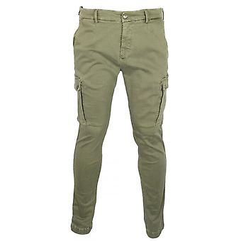 Replay Jaan Stretch Slim Fit Khaki Combat Chino's