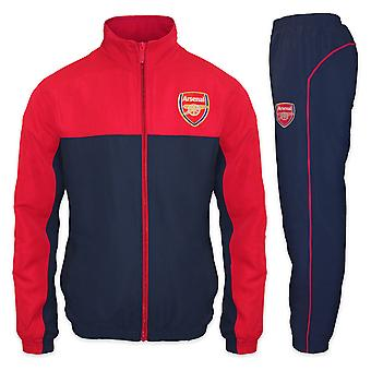 Arsenal FC Official Football Gift Mens Jacket & Pants Tracksuit Set