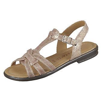 Ricosta Birte Bronce 7021100691 chaussures universelles pour enfants d'été