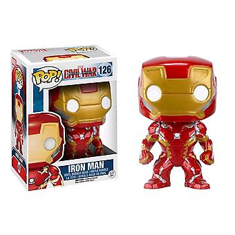 Captain america 3: Bürgerkrieg - Iron Man pop! Vinyl-Figur