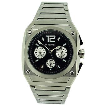 Breil Mens Analogue Chronograph All Stainless Steel Bracelet Strap Watch TW0689