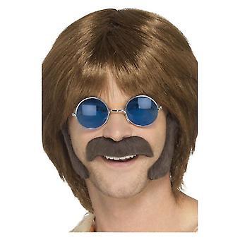 Hippie forklædning sæt