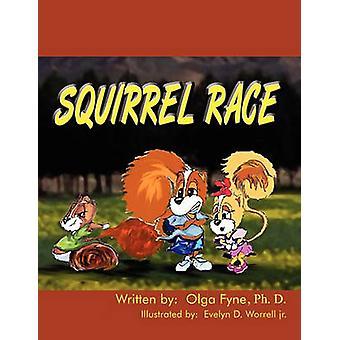 Squirrel Race by Fyne & Olga