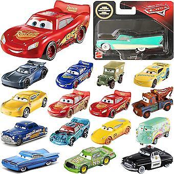 16-Pack Disney Pixar Cars Cars Basics Collection 7-10cm Plastic 1:55