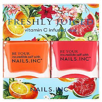 Nails inc Nail Polish Duo - Freshly Juiced Collection (12025)
