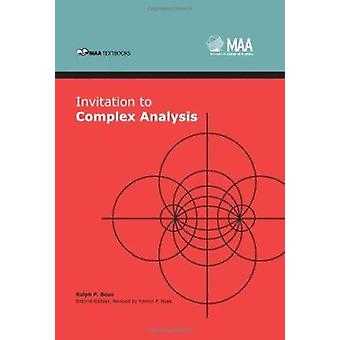 Invitation to Complex Analysis (2nd Revised edition) by Ralph P. Boas