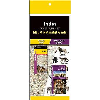 India Adventure Set - Map & Naturalist Guide by National Geographi