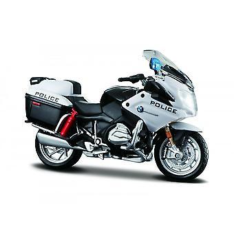 Maisto Moottoripyörä 1:18 BMW R 1200 RT Poliisi Mustavalkoinen