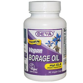 Borage Oil (90 Vegan Caps)-Deva