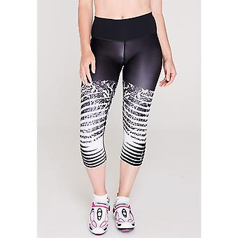Sugoi Womens Fusion Cycling Capri Pants 3/4 Bottoms Running Sport Trousers