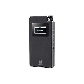 Monolith Portable Headphone Amplifier and DAC - Czarny z technologią THX AAA, wejście analogowe, smukła konstrukcja, Dirac Sensaround od Monoprice