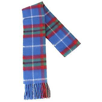 Locharron of Scotland Edinburgh Lambswool Scarf - Blue/Green/Red