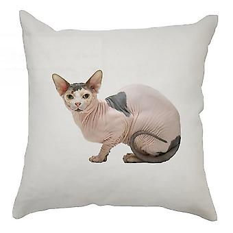 Animal Cushion Cover 40cm x 40cm Hairless Cat