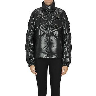 Moncler Ezgl059076 Women's Black Nylon Down Jacket
