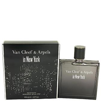 Van Cleef In New York Eau De Toilette Spray By Van Cleef & Arpels 4.2 oz Eau De Toilette Spray