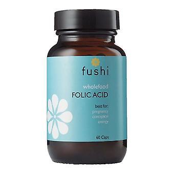 Fushi Välbefinnande Hela livsmedel Folsyra Veg Caps 60 (F0021208)