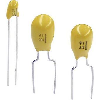 TANCAP CA42-225M035AB Tantalkondensator THT 2,5 mm 2,2 x F 35 V 20 % (B x H) 4,8 mm x 14 mm 1 Stk.