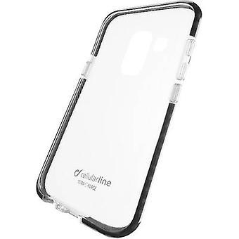 Cellularline TETRACGALJ6PL18T Back cover Samsung Galaxy J6 Plus Zwart