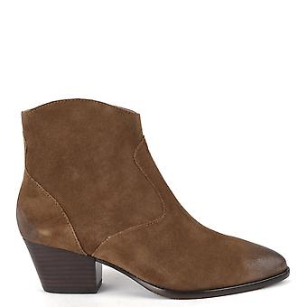 Ash HEIDI BIS Boots Brushed Russet Suede
