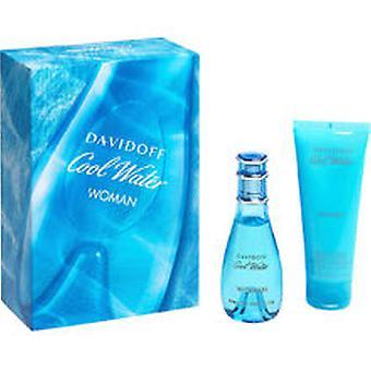 Davidoff - Cool Water Woman SET EDT 30 ml + Körperlotion 75 ml - 30mlML