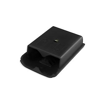 for Xbox 360 Wireless Controller Black Battery Back Cover Pack Replacement Part