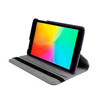 PU nahkakotelon kansi 360 pyörivä LG G Pad 8.0 V480 8&[Violetti]