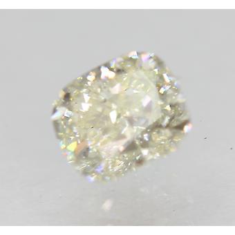 Certified 0.71 Carat H Color VS1 Cushion Shape Enhanced Natural Diamond 5.3x4.73mm 2EX