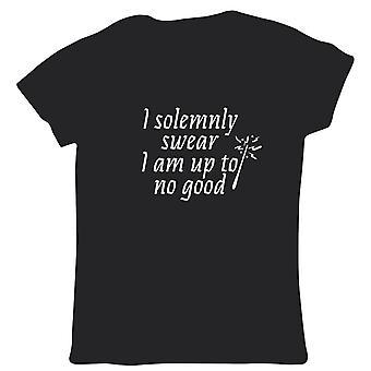 I Solemnly Swear I Am Up To No Good Womens T Shirt - Movie Mischief Potter